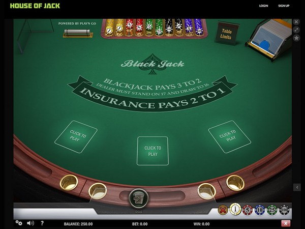 House of Jack Casino Screenshot